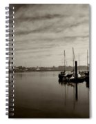 Early Morning River Suir, Waterford Spiral Notebook