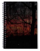 Early Morning Sunrise Spiral Notebook
