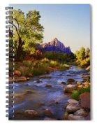 Early Morning Sunrise Zion N.p. Spiral Notebook