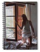 Early Morning Villa Mallorca Spiral Notebook