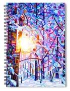Early Riser Spiral Notebook