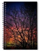 Early Spring Dusk  Spiral Notebook