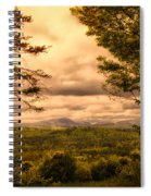 Early Spring Rain Spiral Notebook