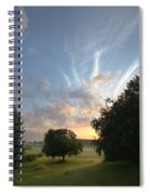 Early Summer Sunrise Spiral Notebook