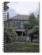 Early Victorian Italianate House Spiral Notebook