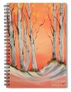 Early Winter Aspen Spiral Notebook
