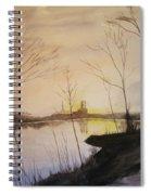 Early Winter Riverside Spiral Notebook