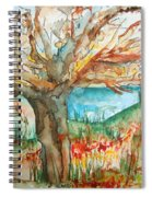 Early Winter Tree Spiral Notebook