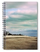 Early Morning Townsends Inlet  Cape May Spiral Notebook