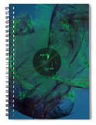 Earth And Heaven Spiral Notebook
