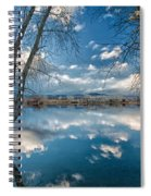 Earth And Sky Spiral Notebook