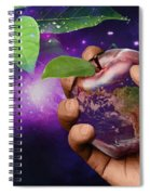 Earth Apple Spiral Notebook
