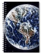 Earth Beauty Original Acrylic Painting Spiral Notebook
