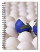 Earth Egg Torn Apart Spiral Notebook