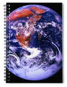 Earth From Space Centered On East Africa Spiral Notebook