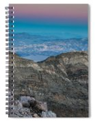 Earth Shadow Spiral Notebook