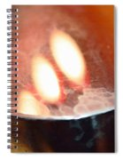 Earth Tone Art - Warmth By Sharon Cummings Spiral Notebook