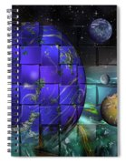 Earthday 2014- The View From On High Spiral Notebook