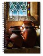 Earthenware Pots Spiral Notebook