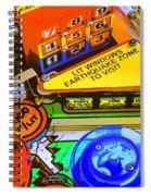 Earthquake Zone Spiral Notebook