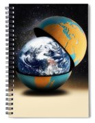 Earths Protective Cover Spiral Notebook