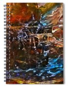 Earthy Abstract Spiral Notebook
