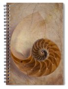 Earthy Nautilus Shell  Spiral Notebook