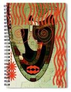 Earthy Woman Spiral Notebook