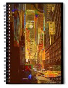 East 45th Street - New York City Spiral Notebook