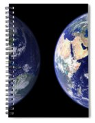 East And West Spiral Notebook