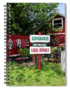 East End Farmstand Spiral Notebook