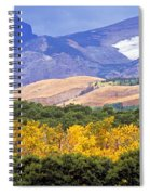 East Glacier Fall Spiral Notebook