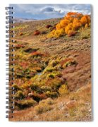 East Of Crowheart Spiral Notebook