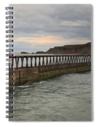 East Pier Whitby Spiral Notebook