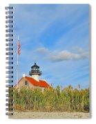 East Point In September Spiral Notebook