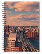 East River Bridges Spiral Notebook