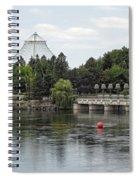 East Riverfront Park And Dam - Spokane Washington Spiral Notebook