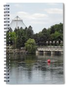 East Riverfront Park And Dam - Spokane Washington Spiral Notebook