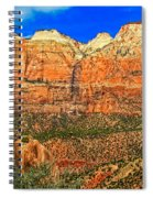 East Temple Spiral Notebook