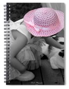 Easter Angel Two Spiral Notebook