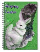 Easter Card 2 Spiral Notebook