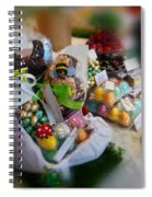 Easter Chocolate Spiral Notebook