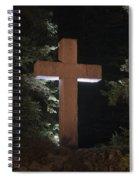 Easter Cross Spiral Notebook