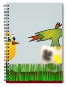 Easter Egg - Disagreeable Surprise Spiral Notebook
