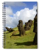 Easter Island 1 Spiral Notebook