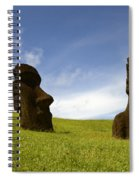 Easter Island 10 Spiral Notebook