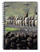 Easter Island 4 Spiral Notebook