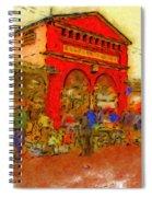Eastern Market Spiral Notebook