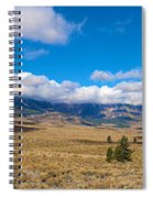 Eastern Sierras 25 Pano Spiral Notebook