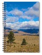 Eastern Sierras 28 Pano Spiral Notebook